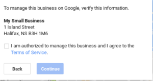 Claim your business in GMB - Step 4